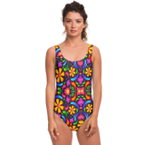 Women's 70's Retro Swim Suit