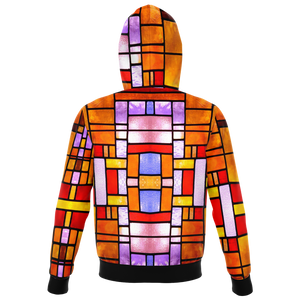 Stained Glass Hoodie Design