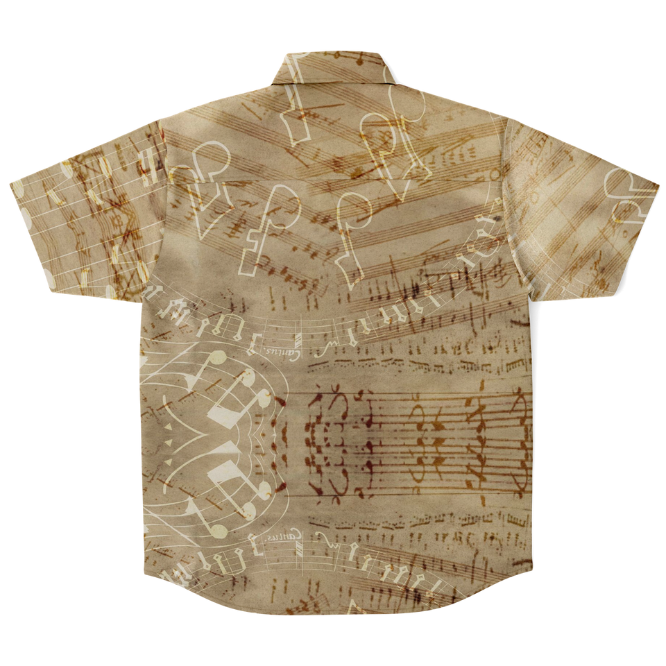 Vintage Musical Notes Shirt