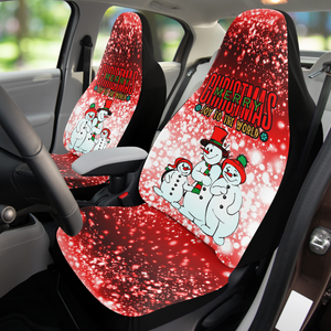 Christmas Car Seat Covers