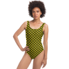 Chartreuse Swimsuit Mermaid Pattern