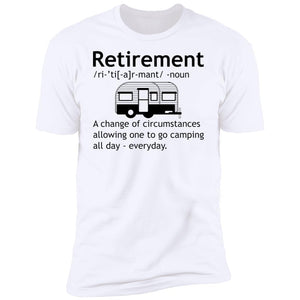 Retirement Camping T-Shirt