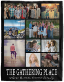 Custom Photo Blanket The Gathering Place