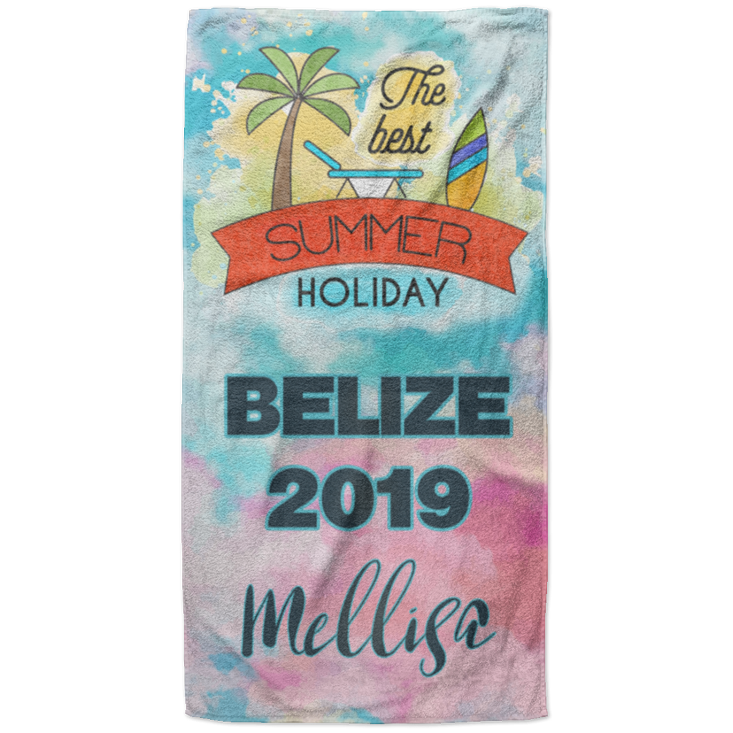 best custom beach towels
