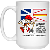 #Snowmageddon Chicken Coffee Mug