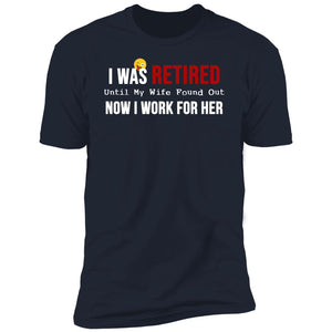 Funny Mens Retirement T-Shirt