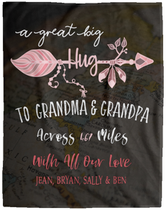 Grandparents Personalized Blanket