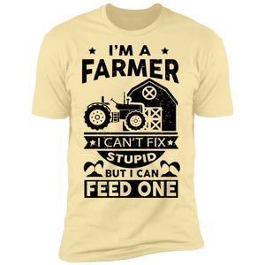 Farmer Premium Short Sleeve T-Shirt