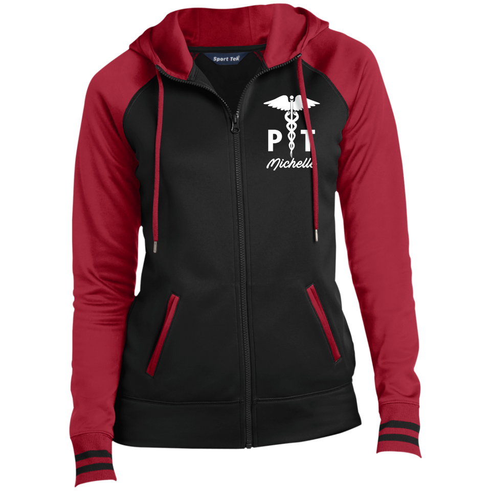 Physical Therapist Full-Zip Hooded Jacket