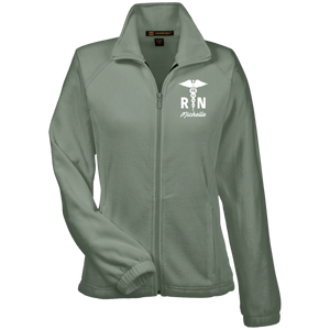 Women's Registered Nurse Fleece Jacket