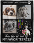 Dog Photo Blanket Collage