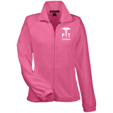 Physical Therapist Personalizable Fleece Jacket