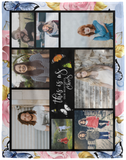 Butterfly Blanket Photo Personalization