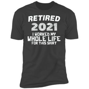 Retired 2021 Short Sleeve T-Shirt