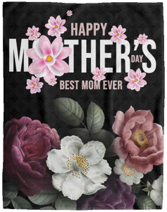 Best Mom Ever Mother's Day Gift Blanket