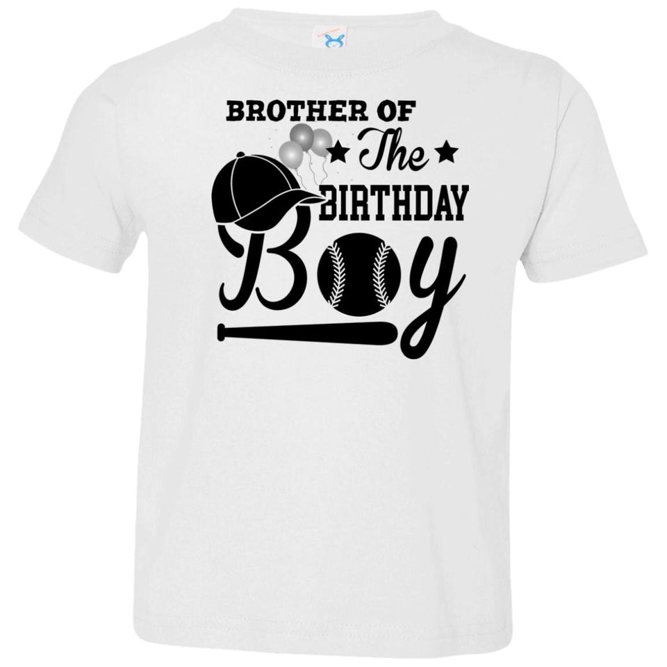 Brother Of The Birthday Boy Toddler T-Shirt