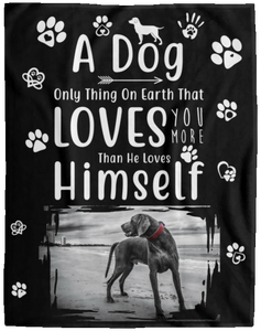 Dog Blanket Personalized With Your Dog Picture