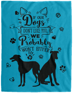Velveteen Dog Blanket Design