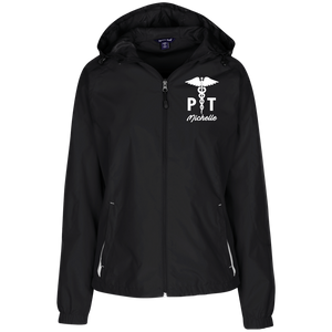 Physical Therapist Ladies Windbreaker Jacket