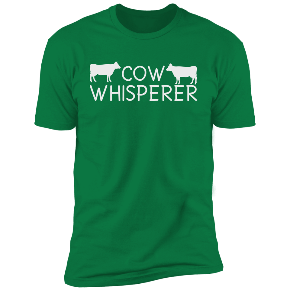 Cow Whisperer Farmer T-Shirt