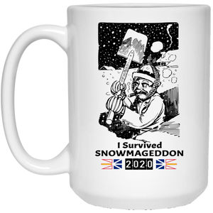 Newfoundland Snow Storm Coffee Mug