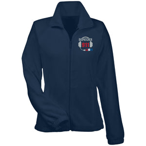 usa 911 Dispatcher Women's Fleece Jacket