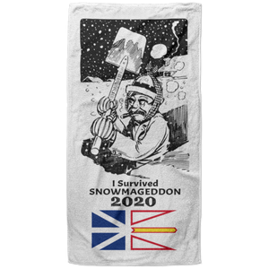 Newfoundland Beach Towel Gift