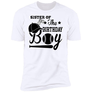 Sister Of The Birthday Boy T-Shirt