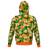 Oganges All Over Print Hoodie