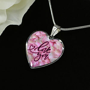 Heart Love You Necklace