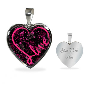 Love Necklace With Cupid