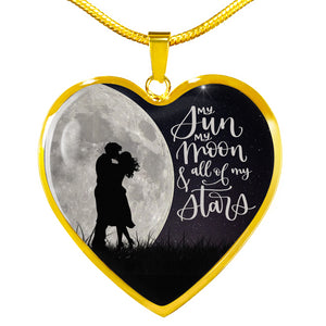 Sun Moon And Stars Love Necklace