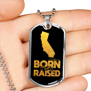 California Born And Raised Necklace