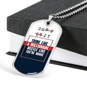 Motivational Quote Necklace