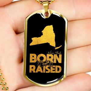 New York Born And Raised Necklace
