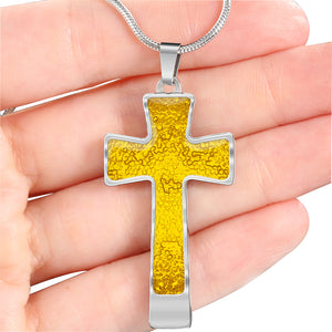 Golden Mosaic Cross