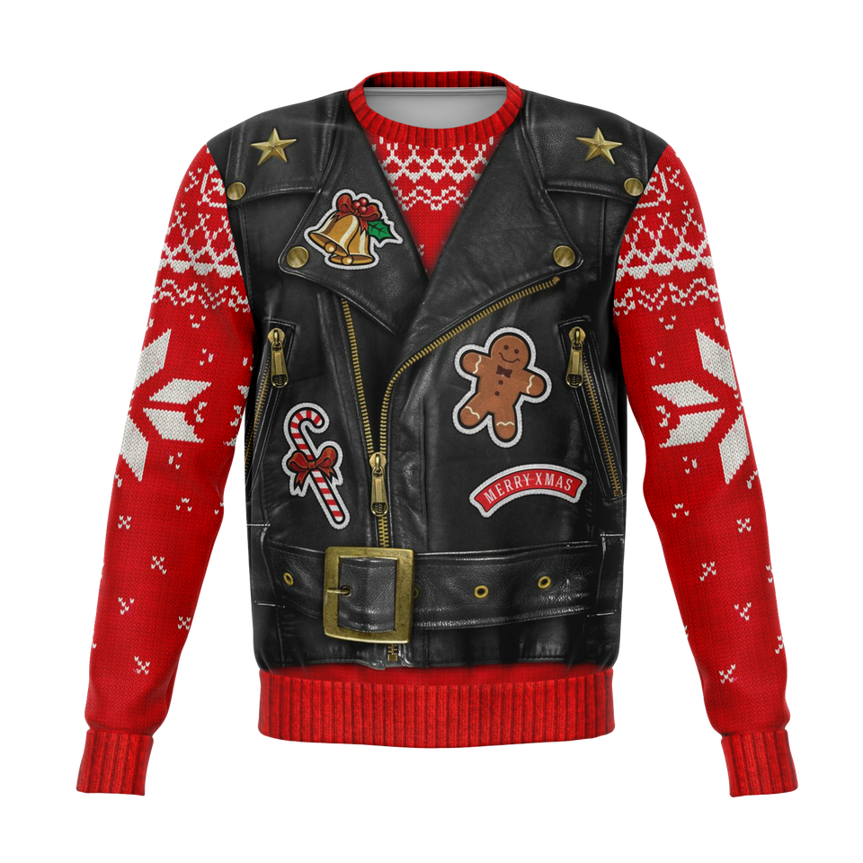 Biker Christmas Sweater