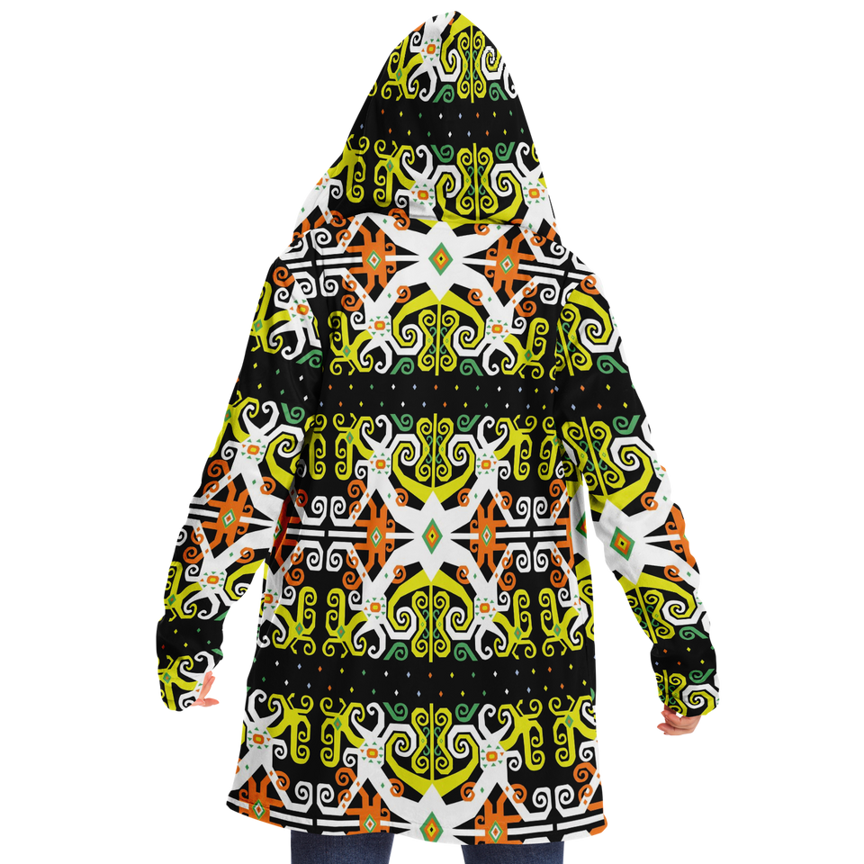 Dayak Tribal Design Cloak