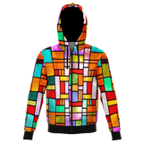 Stained Glass Design Unisex Hoodie