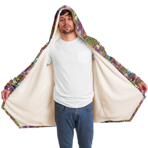Tee Pee Hooded Cloak