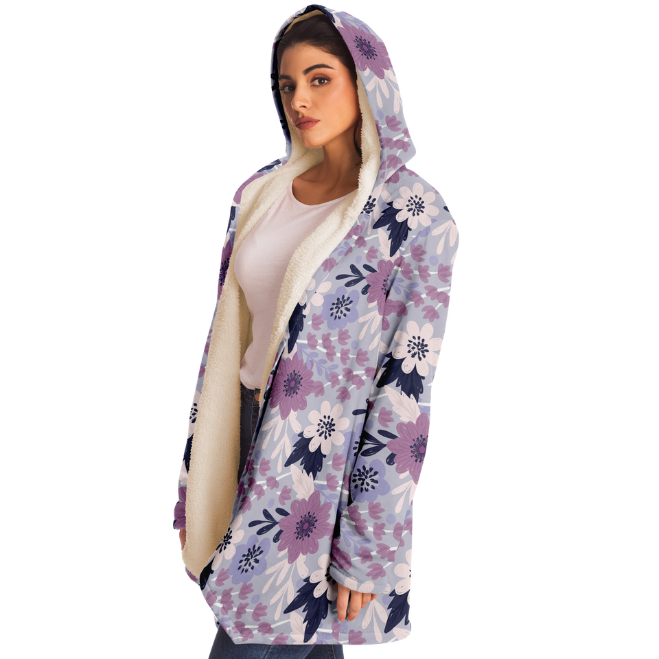Lavender Hooded Cloak