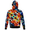 Colorful All Over Print Hoodie