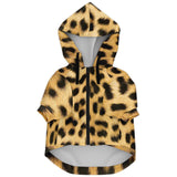 Leopard Print Personalized Dog Hoodie
