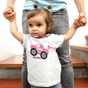 Monster Truck Tshirt For Girls
