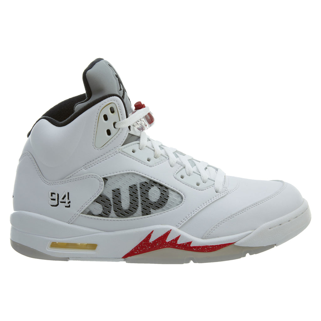 Jordan 5 Retro Supreme White