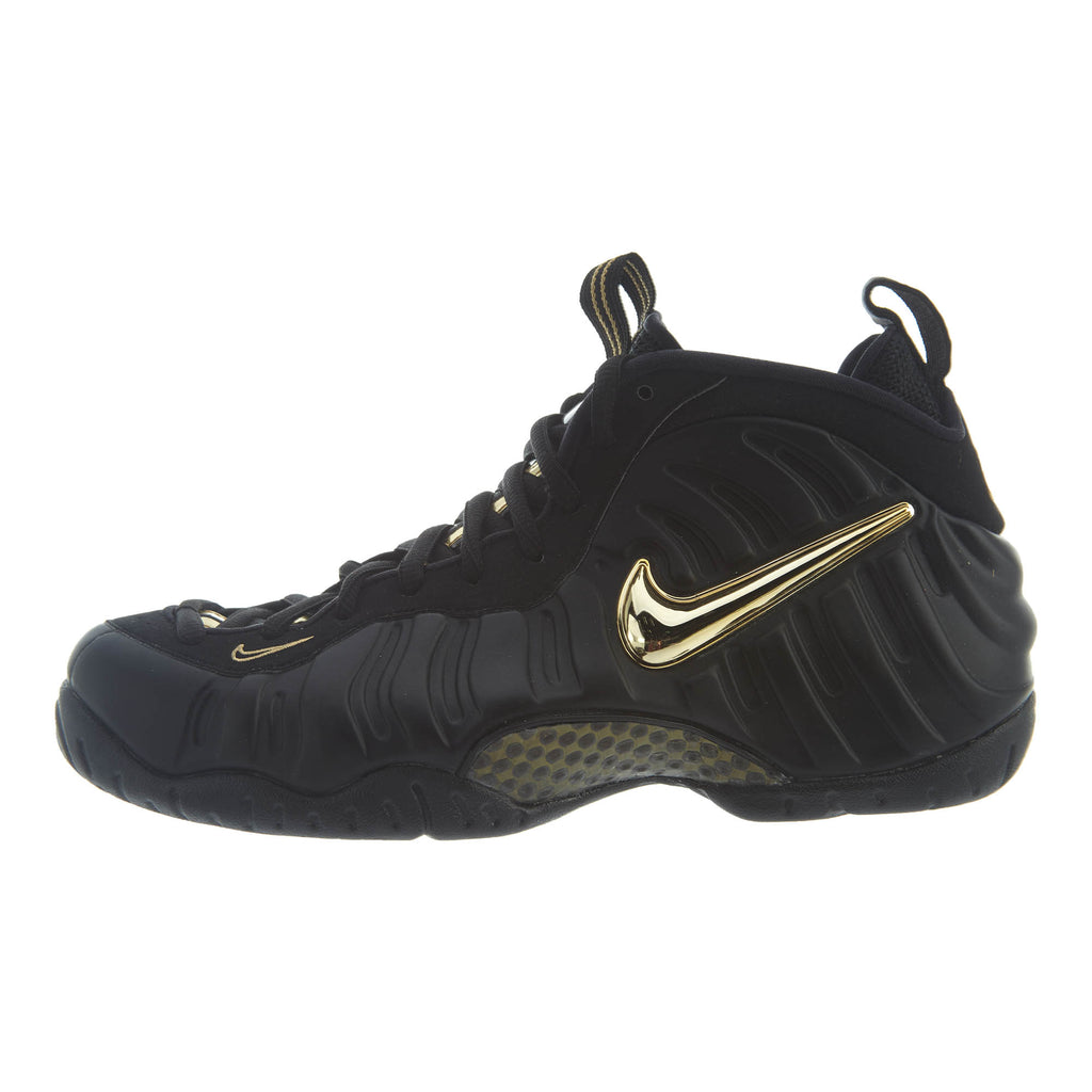 Nike Air Foamposite Pro, Black/Metallic Gold Mens Style :624041