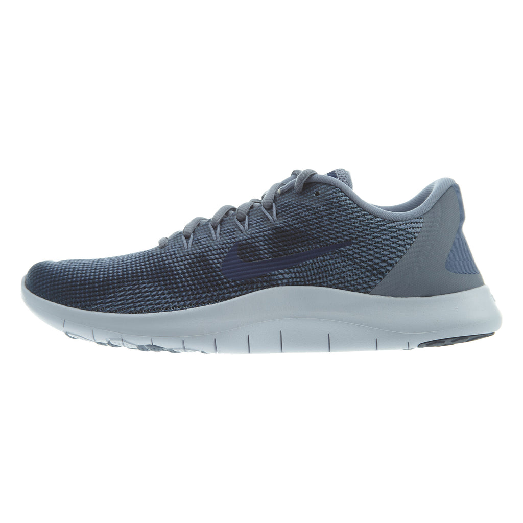 Nike Flex 2018 Running Shoes Ashen Slate/Blue Void Mens Style :AA7397