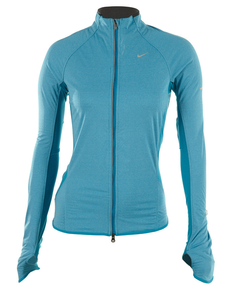ac270d61e27d Nike Element Shield Heathered Running Jacket Womens Style   444912