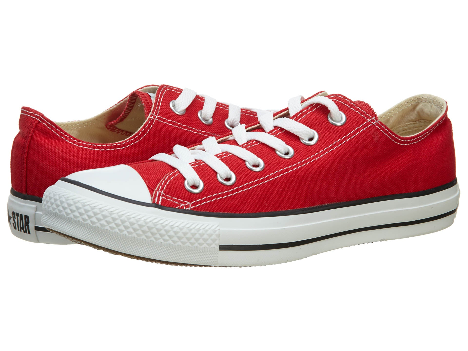 7749f4c570ed Converse Chuck Taylor All Star Red Low Top OX M9696 Canvas New in Box  Athletic Shoes ...