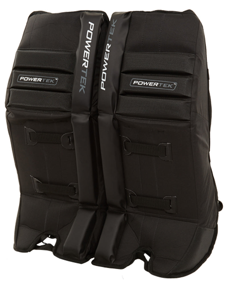 "Power-tek V5.0 Street Hockey Rusty Pads Black 24"" Unisex Style : 6014504"